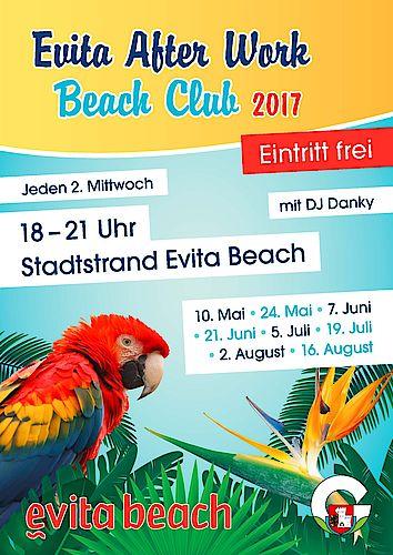 Plakat Evita After Work Beach Club